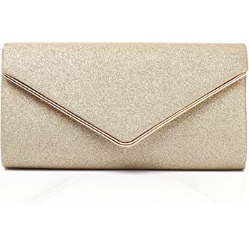 Labair Shining Envelope Clutch Purses for Women Evening Clutches For Wedding and Party.