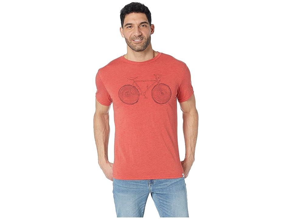 tentree Elms T-Shirt (Baked Apple) Men