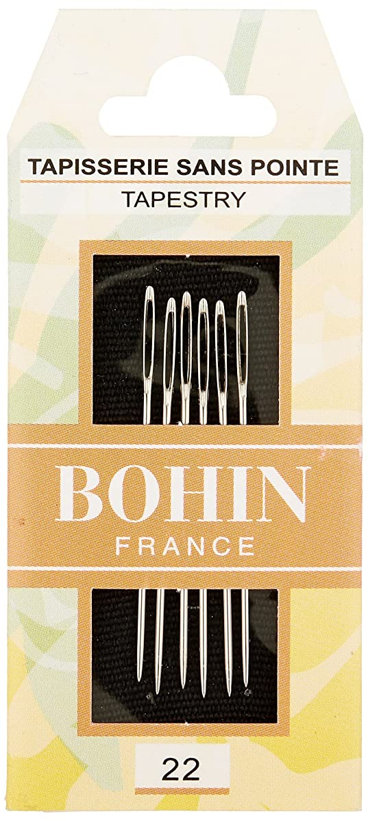 Bohin Tapestry Hand Needles -Size 22 6/Pkg