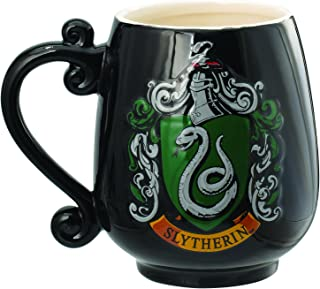 HARRY POTTER Slytherin Crest Ceramic Mug Decorative Mug
