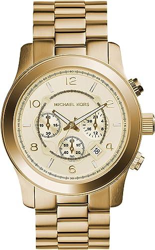 Michael Kors Homme Chronographe Quartz Montre avec Bracelet