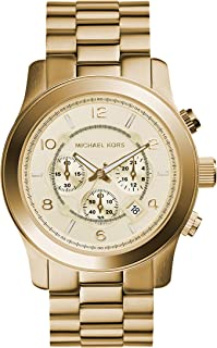 Michael Kors Runway Chronograph Stainless Steel Watch