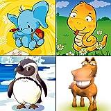 Baby-Identifizierung der Tiere: Freies Spiel