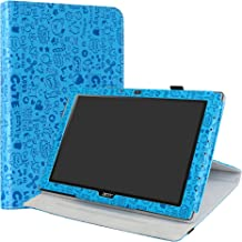 Acer Iconia One 10 B3-A40 Case,LiuShan 360 Degree Rotation Stand PU Leather with Cute Pattern Cover for 10.1