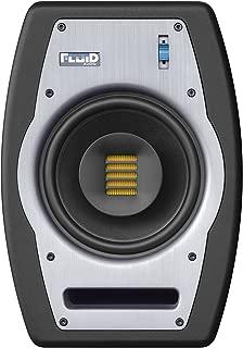 Fluid Audio FPX7 Coaxial Near Field 140Watt Studio Monitor with Bi-amplified Class A/B amplification - Black