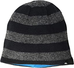 Reversible Stripe Beanie (Toddler/Little Kids)