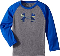 Under Armour Kids - Accelerate Big Logo Long Sleeve (Toddler)