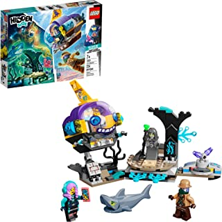 LEGO Hidden Side J.B.'s Submarine 70433, Augmented Reality (AR) Ghost Toy, Featuring a Submarine, App-Driven Ghost-Hunting...