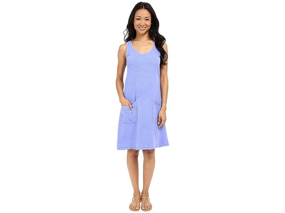 Fresh Produce Drape Dress (Periwinkle) Women