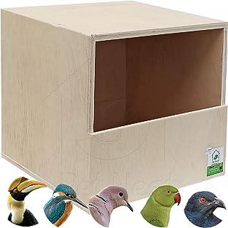 PetNest Bird Breeding House Nest Box for Pigeon House, Hornbill-Parrot-Greater Coucal-Laughing Dove-Kingfisher Garden Bird...