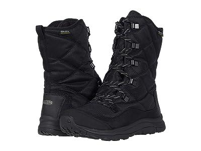 KEEN Terradora II Lace Up Waterproof Boot (Black/Black) Women