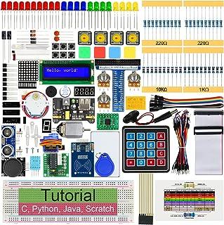 Freenove RFID Starter Kit for Raspberry Pi 4 B 3 B+ 400, 544-Page Detailed Tutorials, Python C Java Scratch Code, 204 Item...