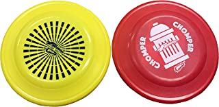 Wham-O Fastback Frisbee Dog Disc Misprints Assorted Colors - Two Pack