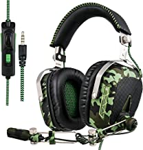 GW SADES SA926T Stereo Gaming Headset for PS4 New Xbox One, Bass Over-Ear Headphones with..