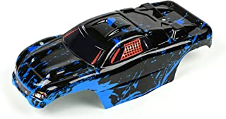 Custom Body Muddy Blue Over Black Compatible for 1/10 Scale RC Car or Truck (Truck not Included) R-BB-01