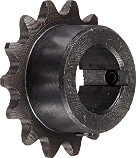 "Tsubaki 35B14FL Finished Bore Sprocket, Single Strand, Inch, #35 ANSI No., 3/8"" Pitch, 14 Teeth, 3/4"" Bore"