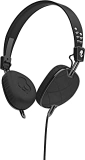 Skullcandy S5AVGM-400 Knockout Women's On-Ear Headphones with Mic & Remote, Geo Quilted Black/Chrome