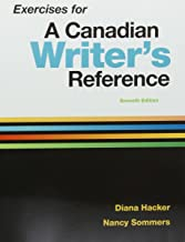 Exercise Workbook for A Canadian Writer's Reference