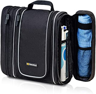 3IN1 Hanging Toiletry Bag for Men - Cosmetic Organizer for Men | Travel Size Toiletries Bag | Large Portable Bathroom Accessories Travel Kit | Travel Toiletry Bag for Women | Diabetic Medicine Bag