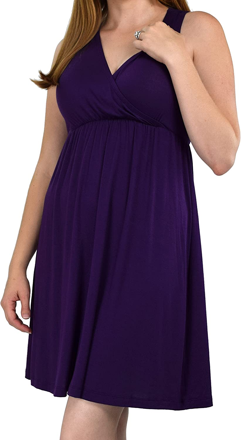 Embrace Your Bump 2 in 1 Super Soft Maternity & Nursing Nightgown