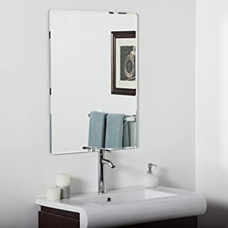 Decor Wonderland Vera Frameless Bathroom Mirror