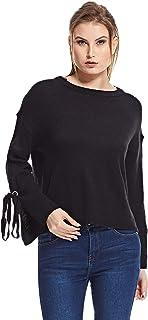 Brave Soul Pullover Top for Women - Black