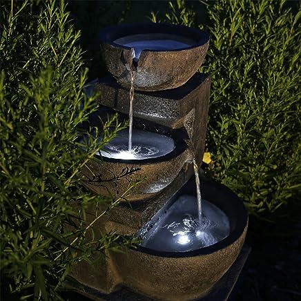 Amazon.fr : fontaine cascade solaire