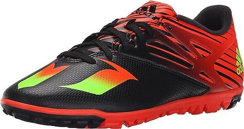 Adidas Perforhommece Messi 15.3 Chaussures de Football, Noir Choc Vert Solaire Rouge, 6,5 M Nous