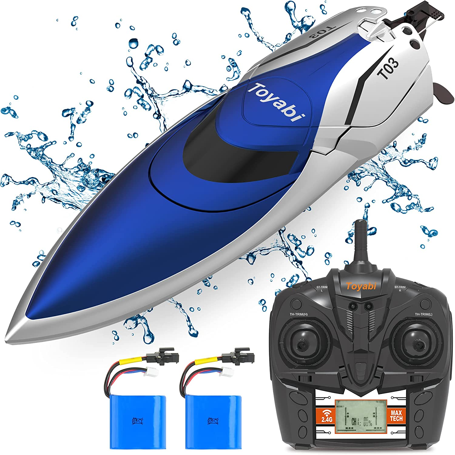 RC Racing Boat GizmoVine High Control Poo Remote Speed for Attention brand Very popular