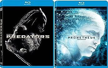Prometheus & Predators Sci-Fi Aliens Blu Ray DVD Movie Set