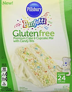 Pillsbury Funfetti Gluten Free Cake and Cupcake Mix (Bundle of 2)