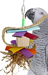 Bonka Bird Toys Balsa Parrot Toys cage Cages preening Cockatiel Conure Cockatiel Budgie Parakeet