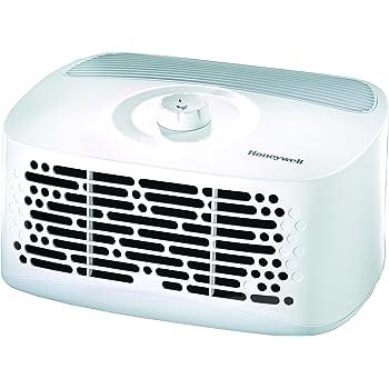 Honeywell HHT270W HEPAClean - Purificador de aire para sala, habitación pequeña, color blanco
