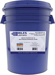 Stratus ISO 46 Anti Wear Hydraulic Fluid 5 Gallon Pail