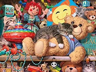 Buffalo Games - Cats Collection - Toy Cabinet - 750 Piece Jigsaw Puzzle