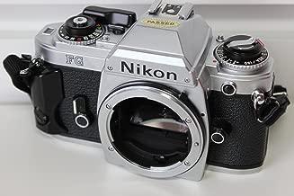 Nikon FG SLR film camera in chrome body
