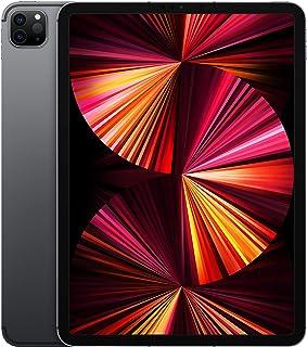 2021 Apple iPadPro (11cala, Wi-Fi + Cellular, 256GB) - gwiezdna szarość (3. generacji)