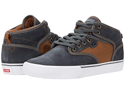 Globe Motley Mid (Dark Shadow/Brown) Men