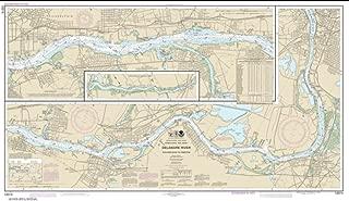 NOAA Chart 12314-Delaware River Philadelphia to Trenton - Water-Resistant - by East View Geospatial