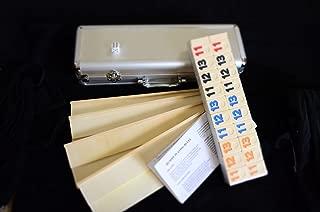 Deluxe Rummy with Wooden Racks in Aluminum Case