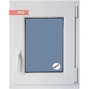 Ventana PVC Practicable Oscilobatiente Derecha 500 ancho x 600 alto 1 hoja con vidrio Carglass (Climalit Mate): Amazon.es: Bricolaje y herramientas