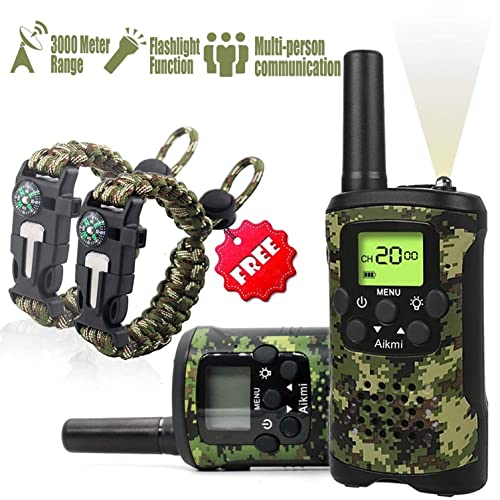 0529558b Kids Walkie Talkies Set - Walkie Talkies for Kids 2 Way Radio Boy Birthday  Gift for
