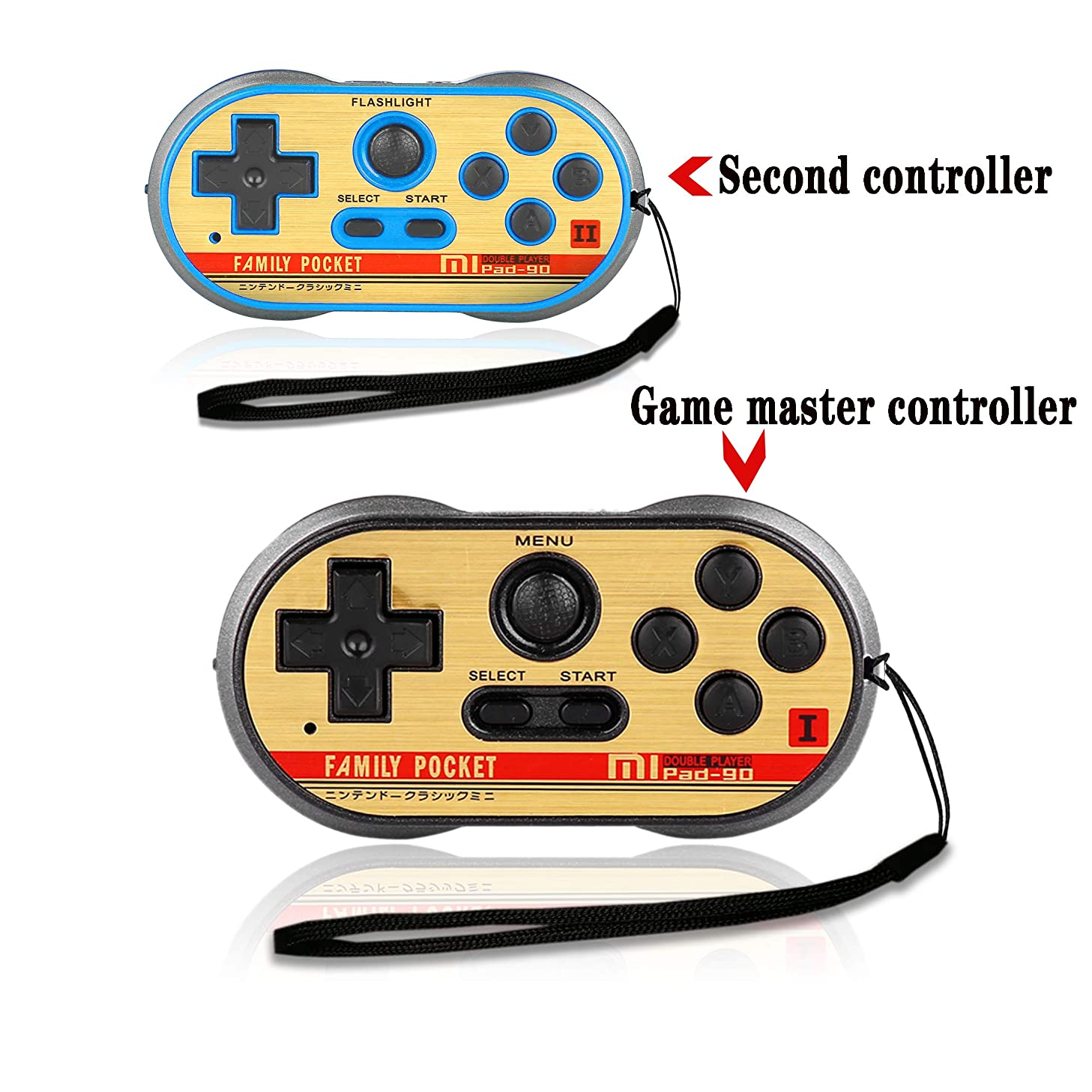 FAMILY POCKET Handheld Game Player Dual Joystick Game Entertainment, NES Classic Mini Game Console, 260 Video Games, Birthday and Children's Gifts