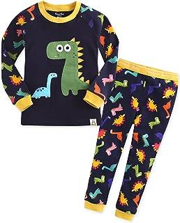 Little Girls Boys Unisex Kids Toddler 100% Cotton Pajamas Sleepwear Pjs Set