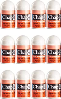 CHAP-ICE Mini Lip Balm, Citrus-Orange, 12 Count