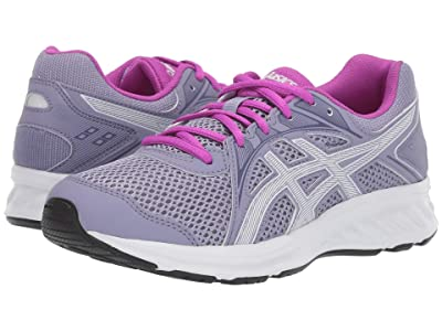 ASICS Kids Jolt 2 GS (Big Kid) (Ash Rock/White) Girls Shoes