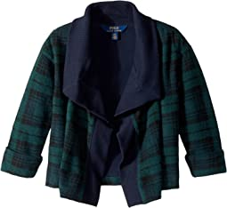 Polo Ralph Lauren Kids - Tartan-Print Fleece Cardigan (Toddler)