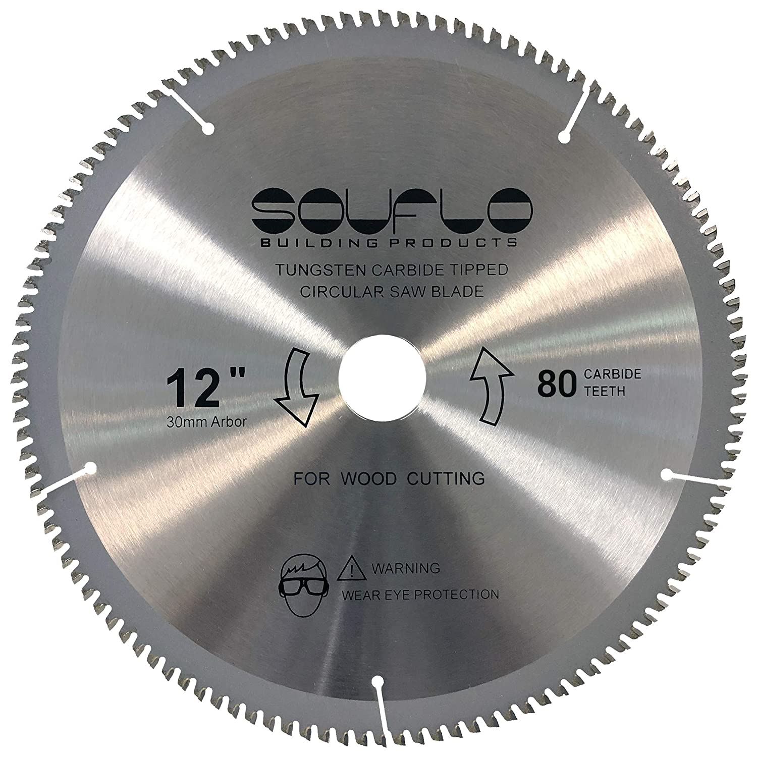 SOUFLO 10-Inch and 12-Inch 120 80 Teeth Circular Blade We OFFer Ranking TOP2 at cheap prices Saw f