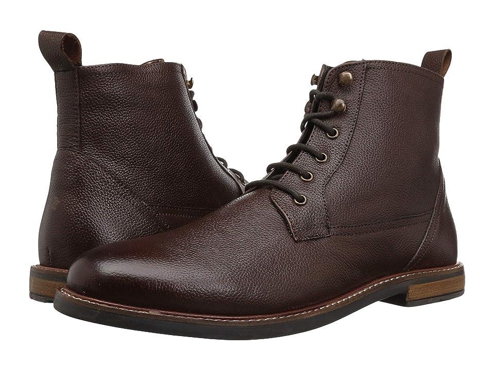 Ben Sherman Birk Plain Toe Boot (Brown) Men