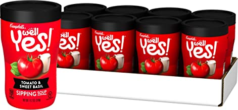 Campbell's Well Yes! Sipping Soup, Vegetable Soup On The Go, Tomato & Sweet..